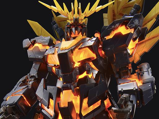 RG 1/144 Banshee Norn Destroy Mode Lighting Model - Release Info