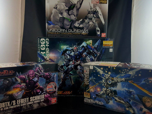 Canadian Gundam New Haul