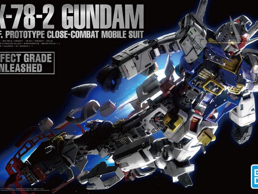 PG Unleashed RX-78-2 Gundam - Box Art & Release Info