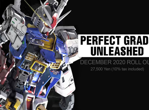 PG Unleashed RX-78-2 Gundam - Release Info