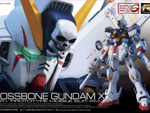RG 1/144 Crossbone Gundam X1 - Box Art & Release Info