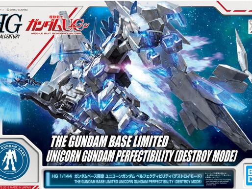 PBandai HGUC 1/144 Unicorn Perfectibility Destroy Mode - Release Info