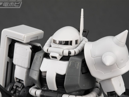 PBandai RG 1/144 Zaku II Eric Mansfield Custom - Release Info & Sample Images By Dengeki Hobby