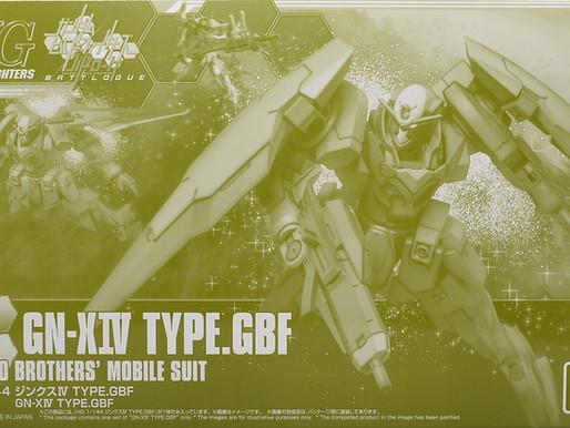 P-BandaiHGBF 1/144 GN-X IV Type GBF - Release Info
