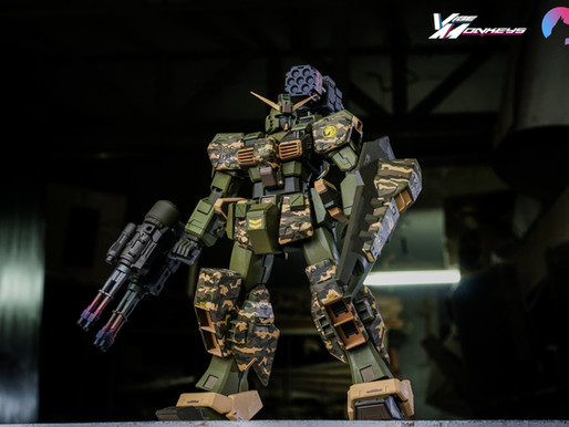 Gundam Hazel MG 1/100 TR1 Assault Custom (Jacob Paolo Tan)