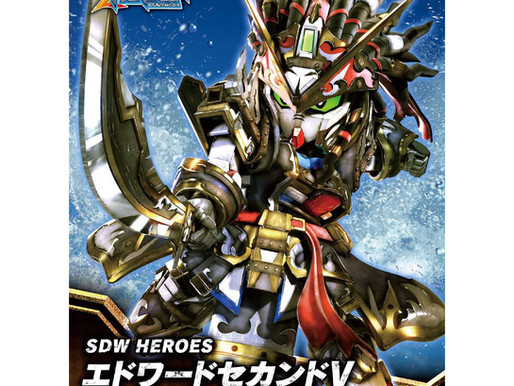 SDW HEROES Edward Second V - Release Info