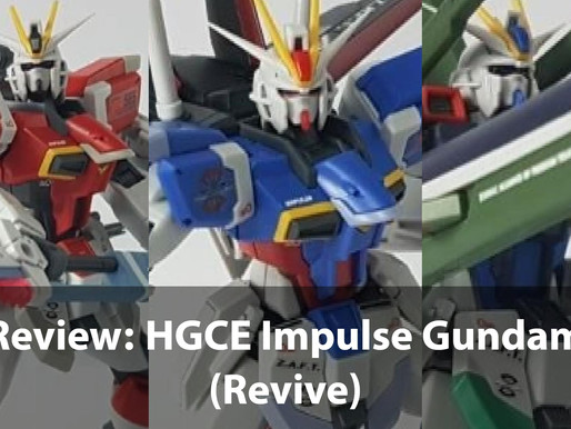 Review: HGCE Impulse Gundam (Revive) + P Bandai Ver.