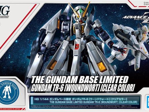 PBandai HGUC 1/144 Gundam TR-6 Woundwort (Clear Color) - Release Info
