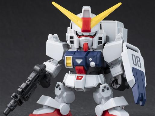 SDCS Ground Type Gundam - Sample Images By Dengeki Hobby & Release Info