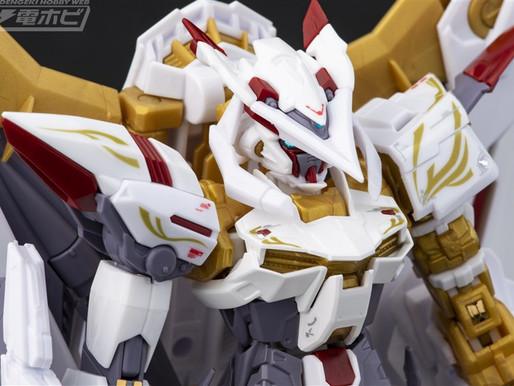 PBandai RG 1/144 Astray Gold Frame Amatsu Hana - Sample Images By Dengeki Hobby & Release Info