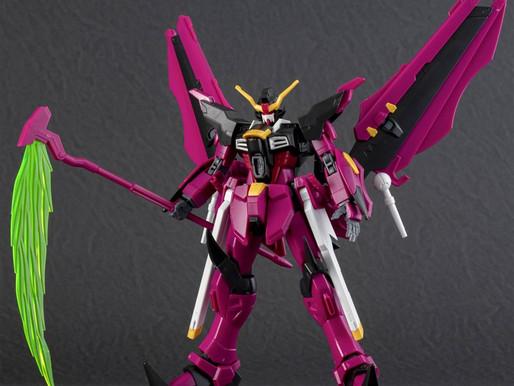 HGBD 1/144 Gundam Love Phantom - Dengeki Hobby Sample Images (OOB)