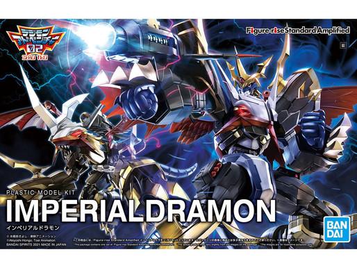 Figure-rise Standard Amplified Imperialdramon - Release Info & Box Art