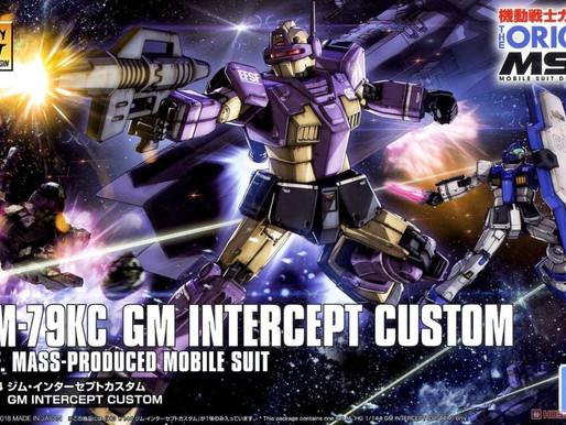 HG 1/144 GM Interceptor Custom - Box Art & Release Info