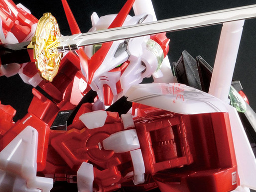 PBandai PG 1/60 Astray Red Frame Metallic Gloss Injection - Release Info