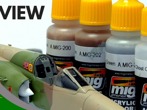Review: Mig Ammo Acrylic Paint