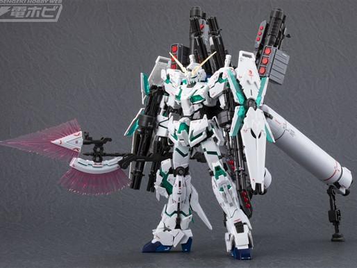 RG 1/144 FullArmor Unicorn - Release Info & Sample Images by Dengeki Hobby