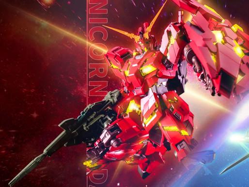 PBandaiPG 1/60 Unicorn Gundam Bande Dessinée China Red Ver.- Release Info