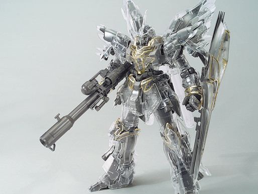 MG Sinanju Mechanical Clear Gundam Base Tokyo Limited Edition - Release Info
