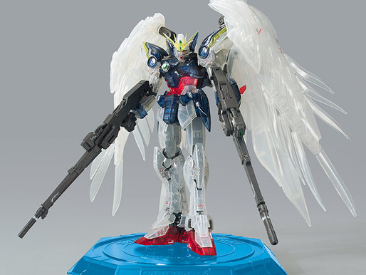 RG Wing Gundam Zero Custom EW Clear Color - Release Info
