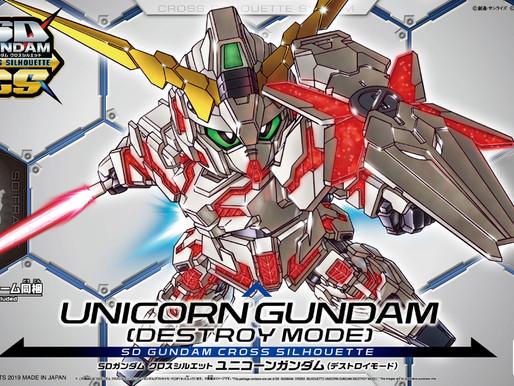 SDCS Unicorn Gundam Destroy Mode - Release Info