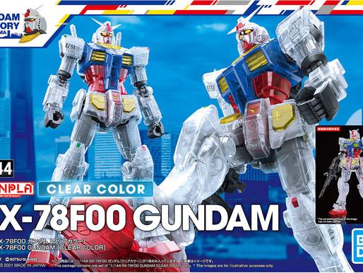 1/144 RX-78F00 Gundam [CLEAR COLOR]  - Release Info