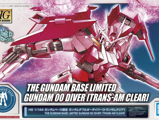 HGBD 1/144 OO Diver Trans-Am Clear Color - Release Info