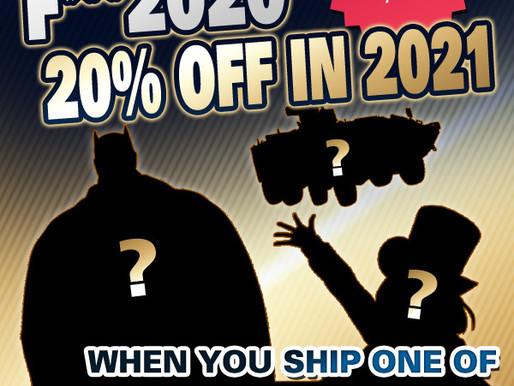 HobbyLink Japan's F*** 2020 Shipping Event
