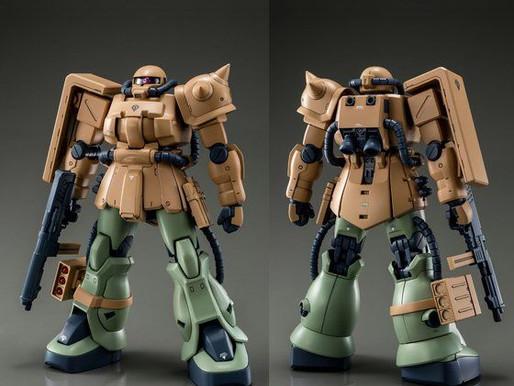 PBandai MG 1/100 Zaku II F2 Kinbareid Forces - Release Info