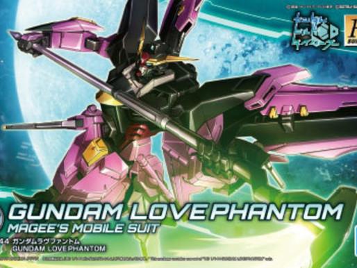 HGBD 1/144 Love Phantom - Box Art & Release Info