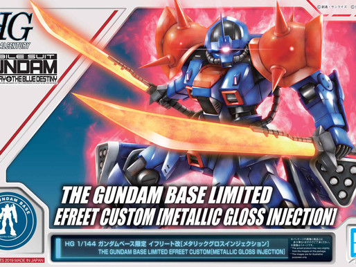 HGUC 1/144 Efreet Custom Metallic Gloss Injection - Release Info