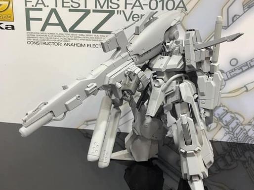 MG 1/100 FAZZ Ver. Ka - Release Info