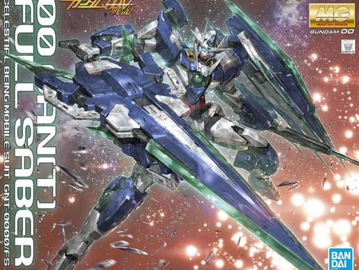 MG 1/100 Quanta Full Saber - Box Art + Release Info