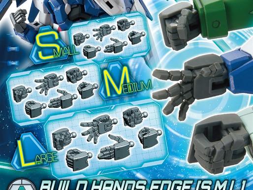 HGBC 1/144 Build Hands Edge Type (S/M/L) - Release Info