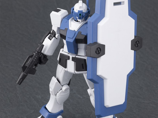 HG 1/144 GM Guard Custom - Dengeki Hobby Sample Images
