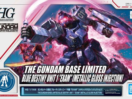 PBandai HGUC 1/144 Blue Destiny Unit 1 [EXAM] [Metallic Gloss Injection] - Release Info