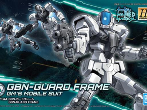 HGBD 1/144 Guard Frame - Box Art & Release Info