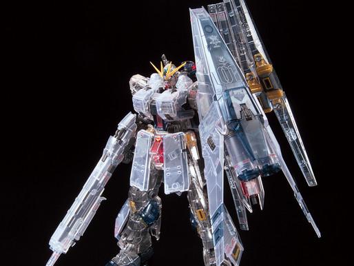 RG 1/144 RX-93 nu Gundam HWS [CLEAR COLOR] - Release Info