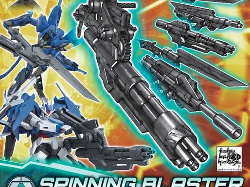 HGBC 1/144 Spinning Blaster - Release Info
