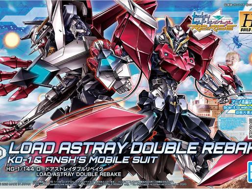 HGBD:R 1/144 Load Astray Double Rebake -Box Art & Release Info