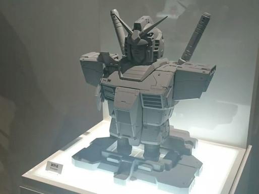 RX 78-2 Bust on display at Gundam Base Tokyo