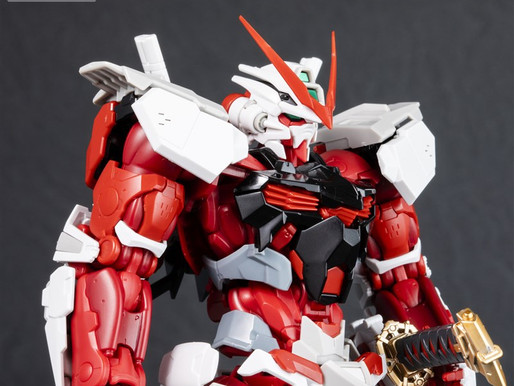 HiRM 1/100 Astray Red Frame - Release Info (Dengeki Hobby Picture)