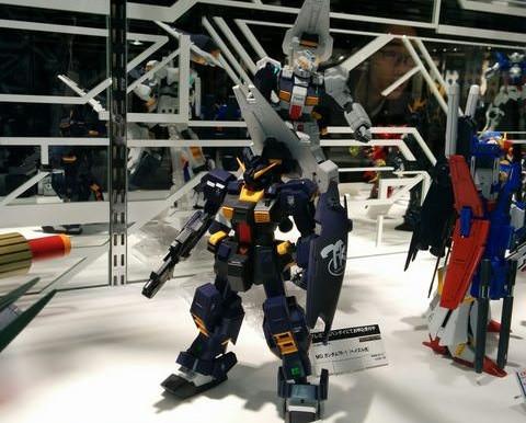 P Bandai MG TR1 Hazel Custom Titans Colors - Release Info