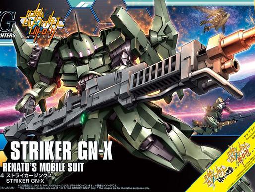 HGBF Striker GN X - Release Info