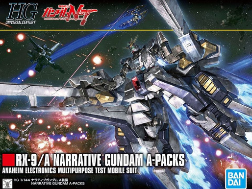 HGUC 1/144 Narrative A Packs - Release Info & Box Art