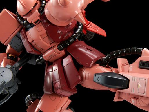 PBandai RG 1/144 High Mobility Type Zaku II (Team Monstor Custom) - Release Info