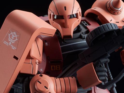 HG 1/144 Char's Zaku I Gundam The Origin - Release Info