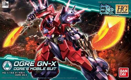 HGBF 1/144 Ogre GN X - Release Info