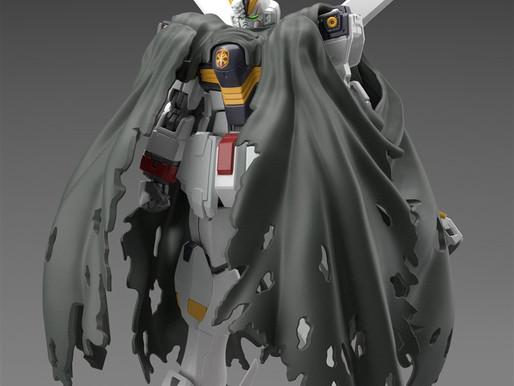 RG 1/144 Crossbone X1 - Release Info & New Sample Images By Dengeki Hobby