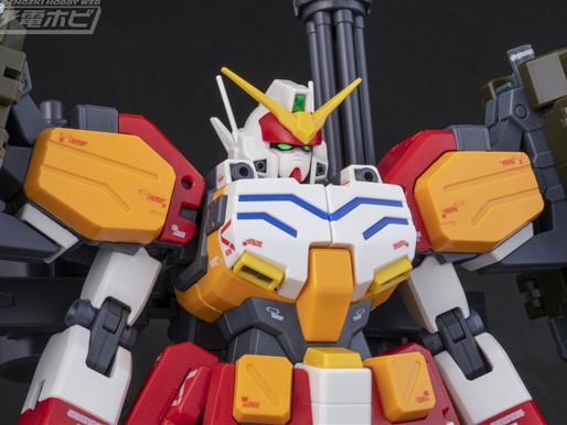PBandaiMG 1/100 Gundam Heavyarms EW Igel Equipment - Release info & New Pictures By Dengeki Hob