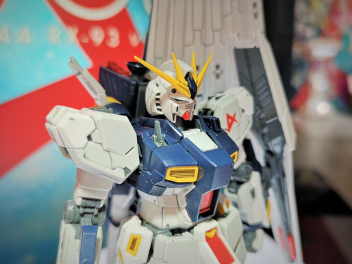 RG 1/144 NU RX93 At the Gundam Base Tokyo - Release Info